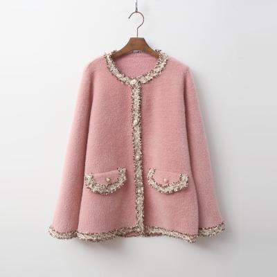 Wool Bosome Tweed Coat