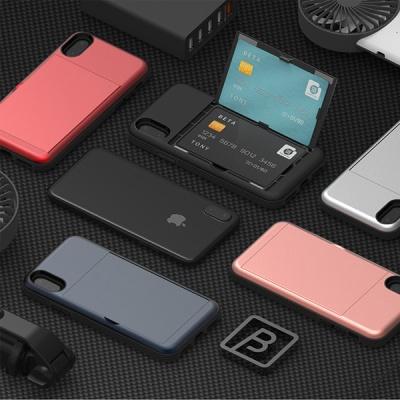 토니 오픈카드 범퍼케이스 카드2장 수납가능 아이폰