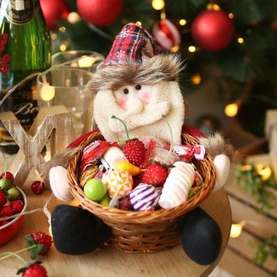 크리스마스 사탕바구니 (산타)