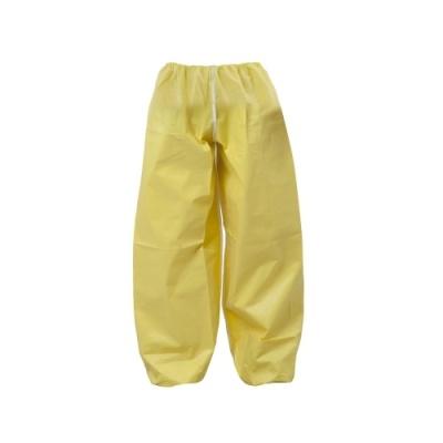 [유한킴벌리] 크린가드A40보호복 바지 대형 노란색 (8벌) 43124 W [팩/1] 330966