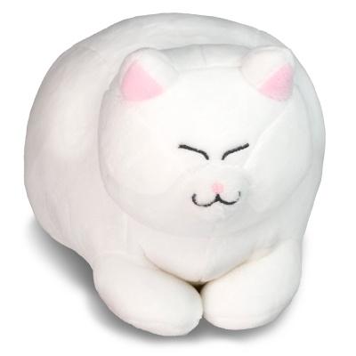 아기 식빵뚱냥 인형 - 하양