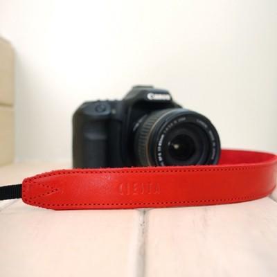 씨에스타 가죽 카메라스트랩 CSS-L30 - 레드/레드