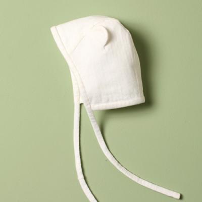 (베이직)(신생아 시리즈) 모자 (화이트) DIY