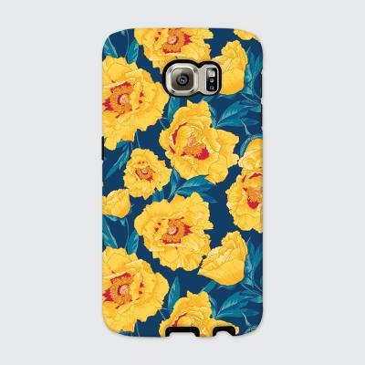 [듀얼케이스] Yellow Flowers-A (갤럭시)