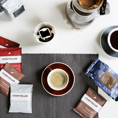 [스토리텔러커피] 커피백 트리플 선물 A Set :스페셜티 드립백 3종
