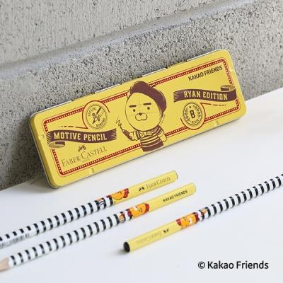 한정판 카카오프렌즈 연필 틴케이스 set (6입)