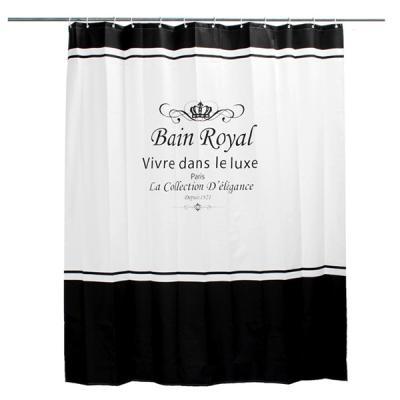 럭셔리 방수 패브릭 욕실 샤워커튼 (180x180)