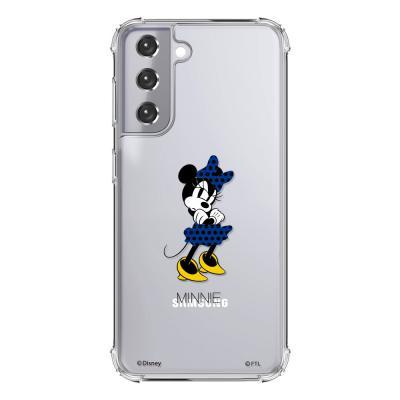 (방탄케이스) 디즈니 심통난미니블루 휴대폰케이스