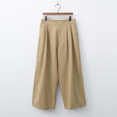 Josh Cotton Pintuck Wide Pants