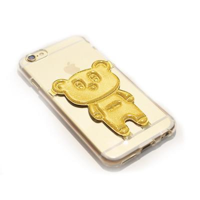 곰돌이쿠키 카드수납 젤리케이스(아이폰6/6S)