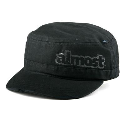 [ALMOST] AMBUSH MILITARY STYLE CAP (Black)
