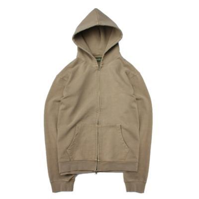Pished hoodie Khaki