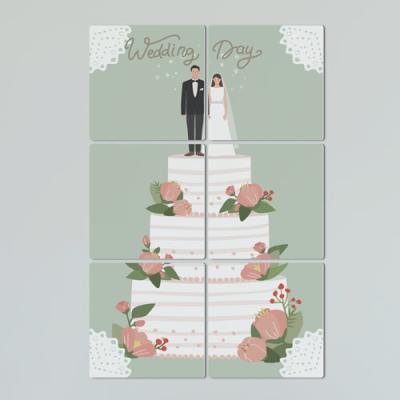 if537-멀티액자_행복한결혼식