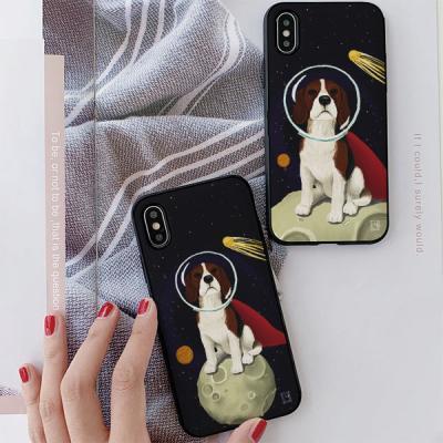 아이폰8 리디아 우주강아지 비글 카드케이스