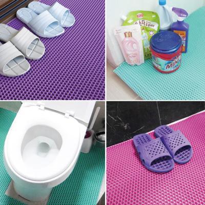 욕실매트 미끄럼방지 화장실매트 중 120x100cm 1+1