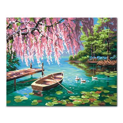 DIY 페인팅 어느 연못에서 PH54 (50x40)