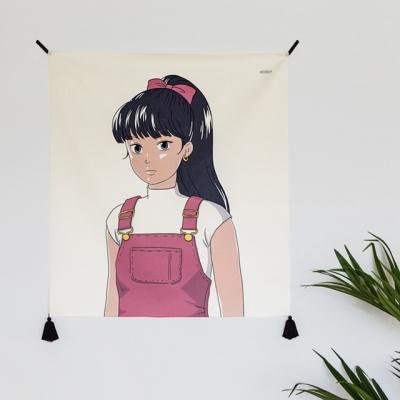 사토미 패브릭 포스터 / 가리개 커튼