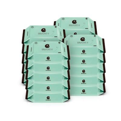 앙블랑 프리미엄 물티슈 민트 휴대리필형 20매x20팩