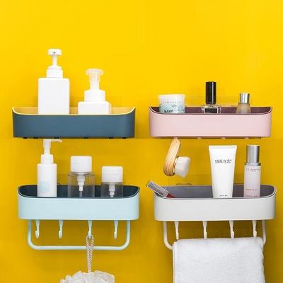 [ABC생활]무타공 투톤 깔끔한 욕실선반 주방 정리