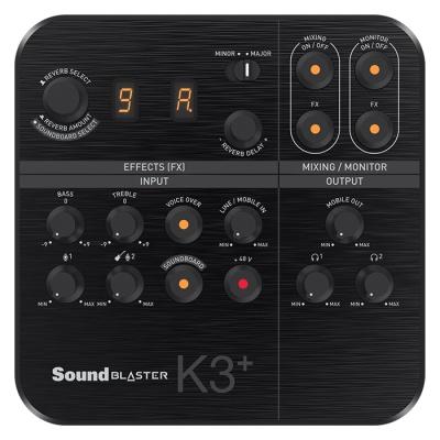 [크리에이티브] 사운드 블라스터 K3+ 방송용 믹서