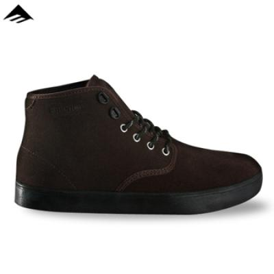 [EMERICA] HIGH LACED X WINTER 기모안감 (Dark Brown)