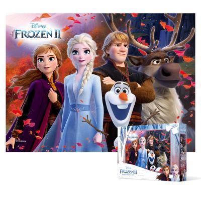 300피스 직소퍼즐 - 겨울왕국 2 새로운 모험 (큰조각)