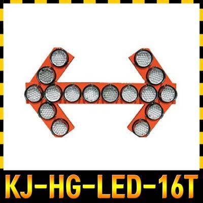 차량용 원형 싸인보드 KJ-HG-LED-16T 밝기_속도조절