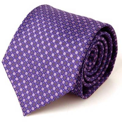 Hombre purple dot 패턴 수동 넥타이 CH1623680
