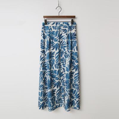 Leaf Full Long Skirt