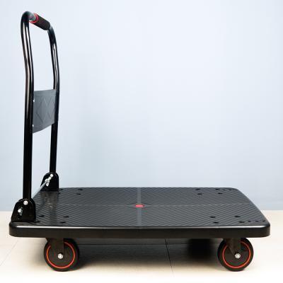 특대형 접이식 대차 핸드카트 무소음 4바퀴 회전형 GB