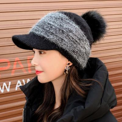 베릴 보아캡 방울 털모자 따뜻한 모자