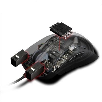 LUTIS 루티스 RGB 게이밍 마우스 LUNATIC M505 (옴론 스위치 / PMW3325 옵티컬센서 / 6단계 DPI감도조절)