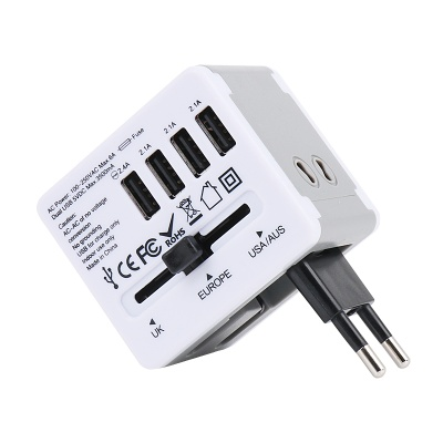 JY-192 해외여행용 멀티아답터 3500mA USB4포트