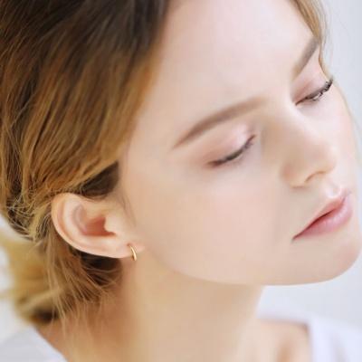 메리디아니 유기견 유기묘 후원 원터치 귀걸이 1cm