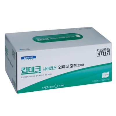 [유한킴벌리] 킴테크사이언스 와이퍼중형200매X30팩 41117 [박스/30] 330941