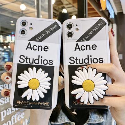 아이폰11 PRO MAX/렌즈보호 국화꽃 스마트톡 케이스