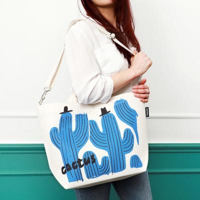 [플루토나인] 선인장 숄더백 기저귀가방
