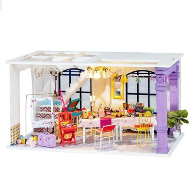 [adico]DIY 미니어처 하우스 3단 로프트 - 파티타임