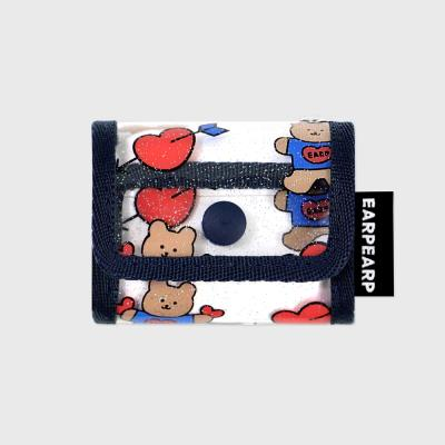 Bear heart-navy(PVC Air pods pro)