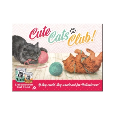 노스텔직아트[14275] Cute Cats Club