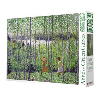 빨강머리앤 퍼즐 자작나무숲의 녹색바람300피스 직소퍼즐