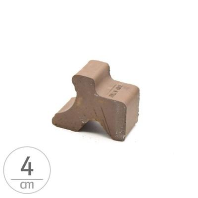 이탈리아 데로마 토분.화분받침 블럭1개 4cm 초코