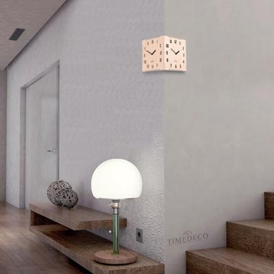 [하이모리] 타임데코 코너시계 R&A Big [양면벽시계/월클락/벽시계/인테리어소품]