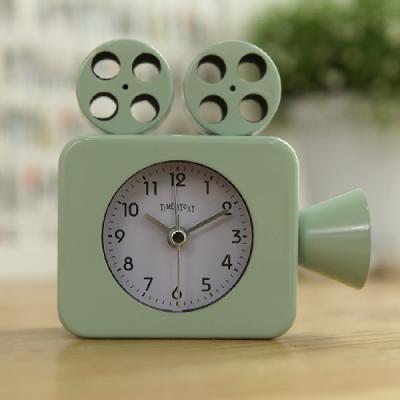 영사기 알람 탁상시계(민트) 탁상 시계 추카추카넷