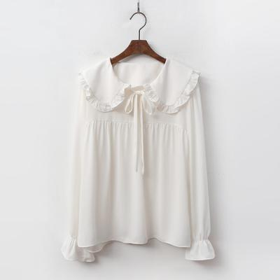 Frill Sailor Collar Blouse