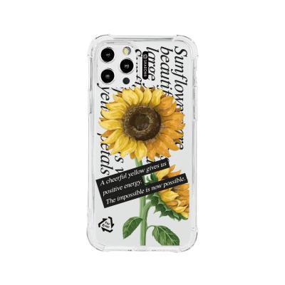 샤론6 아이폰 케이스 썬플라워레터
