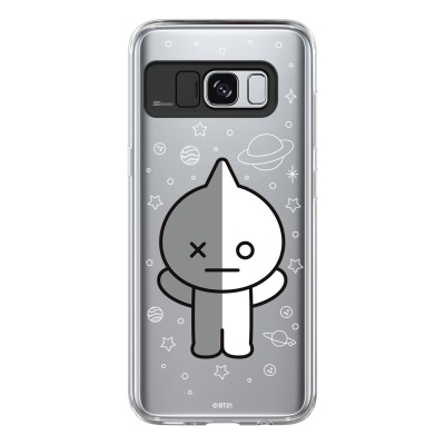 BT21 Galaxy S8 / S8 Plus 반 라이팅 케이스 (Soft)