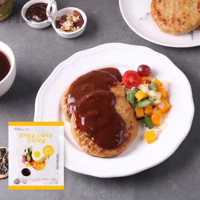 [허닭] 닭가슴살 프리미엄 스테이크 오리지날 1+1