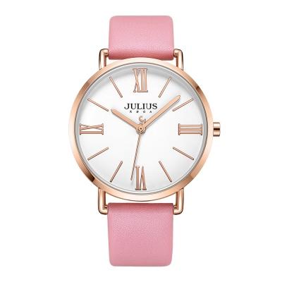 [쥴리어스공식] JA-1107M 남성시계 가죽시계 커플시계