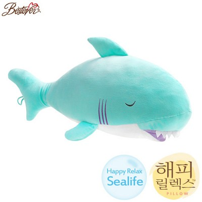 해피릴렉스 바디필로우 인형쿠션-상어(70cm)